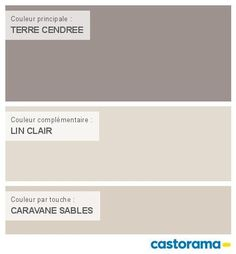 Castorama Nuancier Peinture - Mon harmonie Peinture  TERRE CENDREE satin de DULUX VALENTINE Crême de couleur