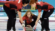 Jennifer Jones and her rink have made history. It's the first time a women's curling team completed the Olympic round robin portion undefeated, going into the playoffs with a perfect record. Olympic Curling, Jennifer Jones, Winter Olympics, Embedded Image Permalink, Robin, Curls, Athlete, Abs, History
