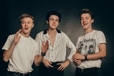 Quick fire catch up with New Hope Club, the British pop trio formed of Blake Richardson, George Smith and Reece Bibby, signed to The Vamps' record label. Blake Edwards, New Hope Club, A New Hope, Shawn Mendes, 5sos, Declan Mckenna, Blake Richardson, Reece Bibby, Disney Music