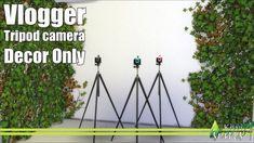 Vlogger tripod camera at Kiwi Sims 4 • Sims 4 Updates