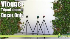 Vlogger tripod camera at Kiwi Sims 4 • Sims 4 Updates