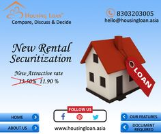 Consult our experts to get clarity about your rental securitization at housingloan.asia  Call us now :8303203005 Reach us at: Website : http://www.housingloan.asia/ Twitter :https://twitter.com/HousingloanAsia Pinterest :https://www.pinterest.com/housingloanasia/