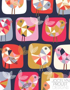 Illustrated by Jocelyn Proust (via Print & Pattern).