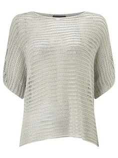 e949e42bfbda31 Maura metallic knit top Phase Eight - reduced to £37.50 Metallic Top