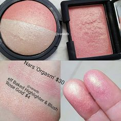 """296 Likes, 1 Comments - Vanessa (@vanedb) on Instagram: """"Another dupe found on this @elfcosmetics Highlighting and Blush duo in Rose Gold . The blush…"""""""