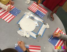 Flag making art proj