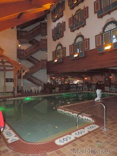 Bavarian Inn Lodge - Color Changing Pool (whirlpool in background) Frankenmuth Bavarian Inn, Frankenmuth Michigan, Saginaw Valley, Birch Run, Places Ive Been, Places To Visit, Christmas Wonderland, Barbarian, Lake Michigan