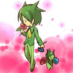 - Roselia Pokemon Photo: This Photo was uploaded by SZubuza. Find other pictures and photos or upload your own with Photobucket free image and video hosti. Green Pokemon, Pokemon Fan, Pokemon Stuff, Pokemon Cosplay, Pokemon Human Form, Gijinka Pokemon, Pokemon People, Pokemon Images, Bulbasaur