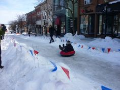 Orillia, Ontario Canada Date shot: March 2, 2014  Great day for Winter Fest in Orillia Ont CA March 2nd 2014