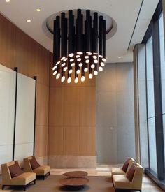 Neidhardt - San Francisco, CA Lobbies, Custom Lighting, Light Fixtures, Ceiling Lights, Contemporary, Table, Projects, San Francisco, Commercial