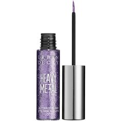 Urban Decay Heavy Metal Glitter Liner found on Polyvore