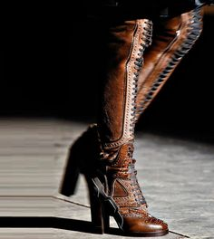 Givenchy - Women's Boots / Fall 2012 #boots #shoes #givenchy