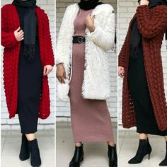 Hijab styles 747949450592120688 - Mixing and matching beautiful winter hijab – Just Trendy Girls Source by alexrahmy Stylish Dresses For Girls, Modest Dresses, Modest Outfits, Modest Fashion Hijab, Abaya Fashion, Fashion Outfits, Casual Fall Outfits, Casual Hijab Outfit, Mantel Outfit