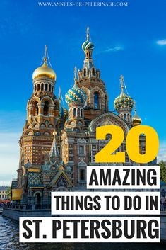 The 20 best things to do in St. Petersburg, Russia. A detailed travel guide to the former Russian capital with all the top tourist attractions and points of interest in St. Petersburg. Learn what to see, where to stay and when to visit St. Petersburg and plan your perfect itinerary. Visit the Hermitage Museum, Peterhof Palace and the Peter and Paul Fortress - there are just so many things to see in St. Petersburg it will blow your mind. #Stpetersburg #Russia #travel #city #travelguide…