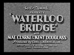 Waterloo Bridge (1931).