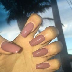 Old pink nails
