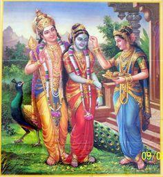 Devasena with Skanda