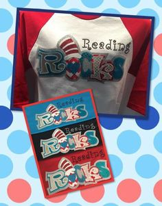 Grade Rocks! (Dr. Seuss), $25.00 Order your custom tee at (972)723-2251 or ClaireLynn.com