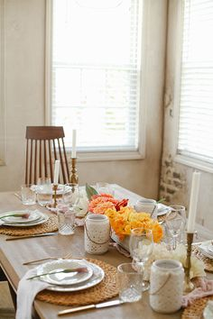 simple easter table