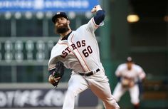 Six biggest MLB overreactions from first week of action  -  April 11, 2017:     Dallas Keuchel as 2017 American League Cy Young Award winner  -     Houston Astros starting pitcher Dallas Keuchel (60) delivers a pitch during the fifth inning against the Kansas City Royals at Minute Maid Park.