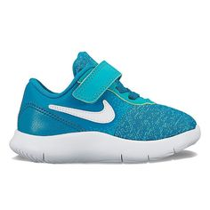 Nike Flex Contact Toddler Girls' Shoes, Size: 10 T, Blue
