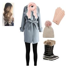"""Snow day"" by swinterb on Polyvore featuring Boohoo, Chicwish, Old Navy, Ted Baker, SOREL and Jocelyn"