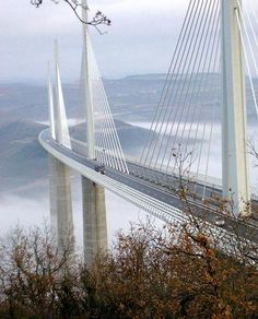 Another shot of the Millau Viaduct near Millau in southern France.