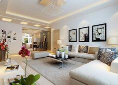 2014 Modern Living Room Wall Decor For Large I 427 Interior Design modern wall ideas for living room - interiordaily.pics