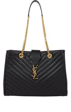 Quilted Monogramme Tote