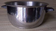 Rena Ware 6 QT stockpot dutch oven soup pot ONE PIECE! stainless steel heavy pan #RenaWare