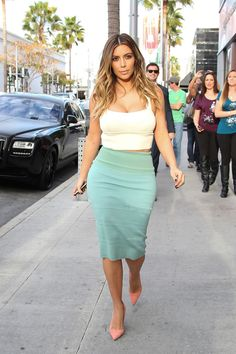 Kim Kardashian's Best Looks of 2014 - Check them all out on ELLE