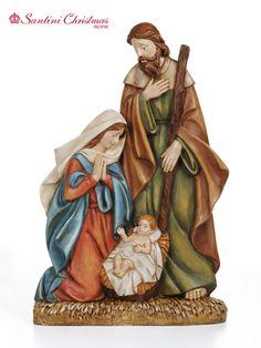 Nacimiento / Nativity Set Christmas Nativity Set, Christmas Cards, Nativity Sets, Holy Family, Wood Carving, Holi, Coloring Books, Decoupage, Scene
