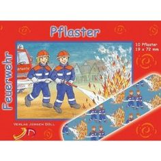Firefighter Band Aids - for the big kids too! Going Back To School, Firefighter, Big Kids, Baseball Cards, Sports, Band, Pavement, Fire Department, Kids
