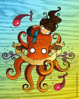 Octopus by Chocolatita