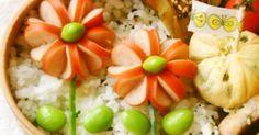 簡単飾り切り♪ウインナーのお花♥ 2014.6.1話題のレシピ入りに感謝です✨