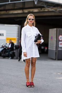 Natalie | A Love is Blind - Paris Fashionweek ss2014 day1, outside Dries van Noten