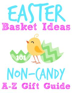 Easter Basket Ideas: A to Z Gift Guide - This Girl's Life Blog