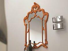 - Specchio in stile rococò a parete SUSY | Specchio - Dall'Agnese