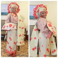 Traditional Dress of a Nigerian Queen