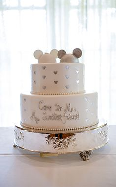 The Disney Wedding Cakes Gallery On Disneys Fairy Tale Weddings Is A Collection Of Images Featuring