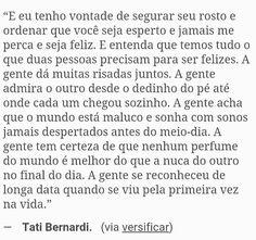 Tati Bernardi.