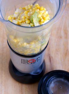 Creamy Corn Soup - Magic Bullet