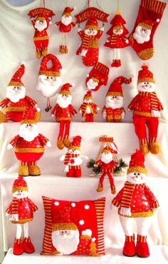 Handmade Cloth Art for Christmas decoration from Quanzhou Ruihua Crafts Company/China