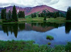 Cinnamon Mountain, Crested Butte, Colorado