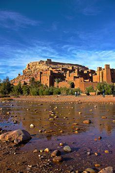 Aït Ben Haddou . Morocco - Maroc Désert Expérience http://www.marocdesertexperience.com