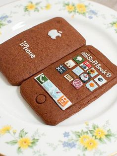 Sweet iPhone Cookies
