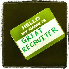 Great little article on #branding as a recruiter and the importance of it! Be Rad! :)
