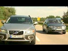 Audi A6 Allroad vs. Volvo XC 70 Motorvision vergleicht die e - YouTube
