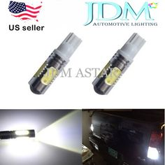 JDM ASTAR 11W Super Bright 912 921 T10/T15 White Backup Reverse Light LED Bulbs #JDMASTAR