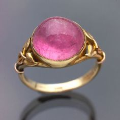 Crafts Movement | Murrle Bennet ring ca. 1900 via Tadema Gallery